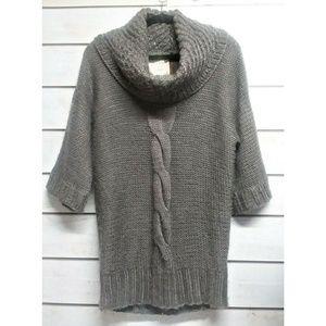 Anthropologie Kenji Gray Sweater Dress L